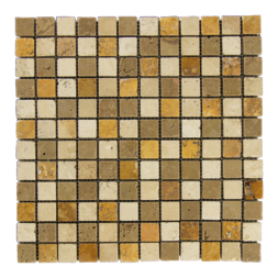 Mixed Travertine (Gold/Noce/Ivory)