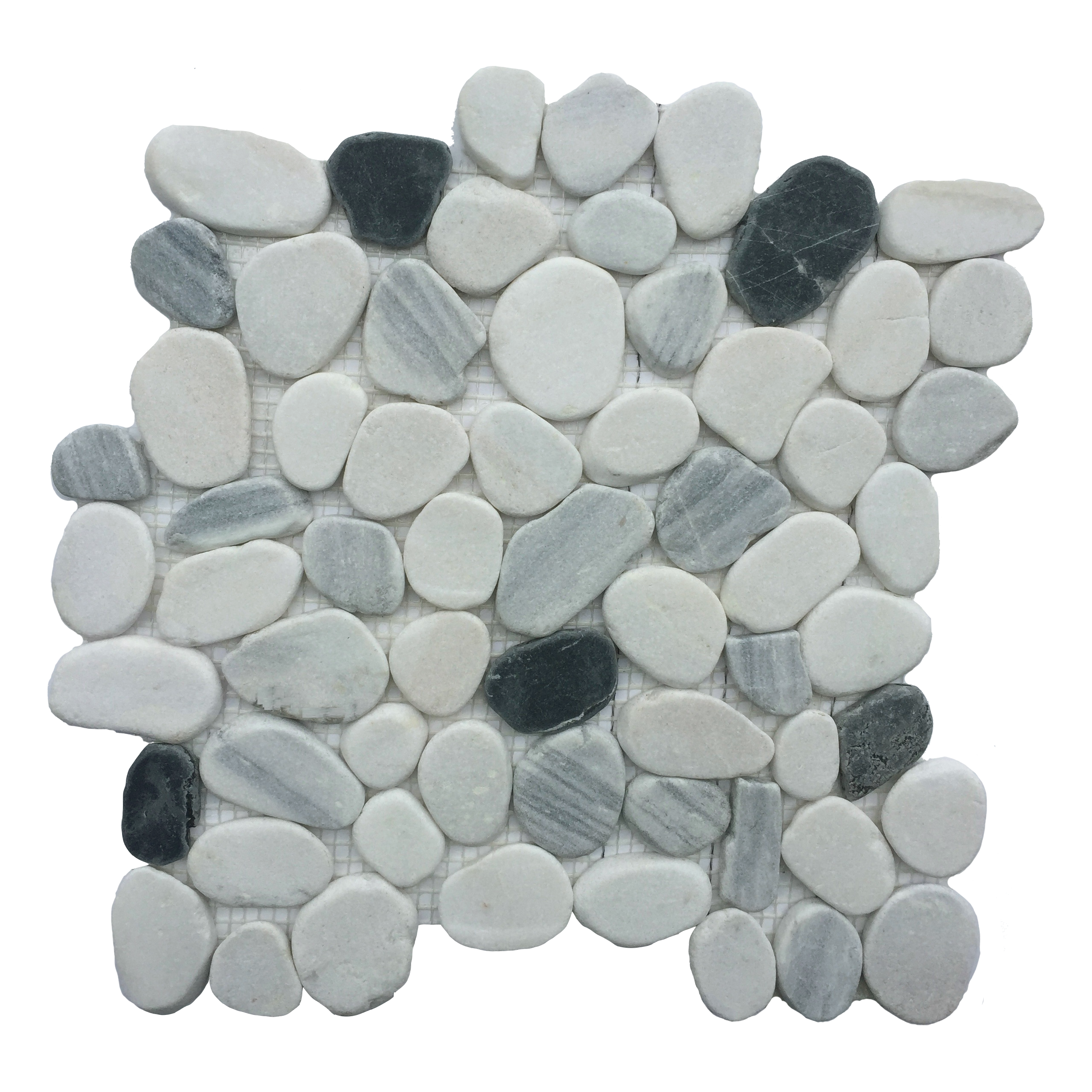 Orion Flat Matte Pebble Mosaic