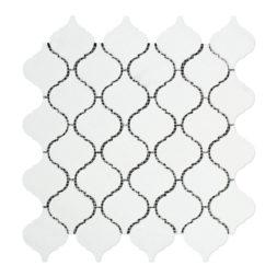 Thassos White Lantern Mosaic