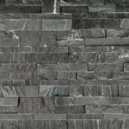 Marine Black 6x24 Schist Ledger Panel - Natural Stone Resources